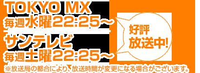 アニメ「amecon!!」放送時間